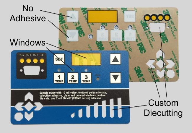 Control Panel Label