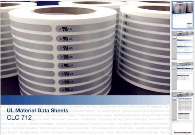Material Data Sheets
