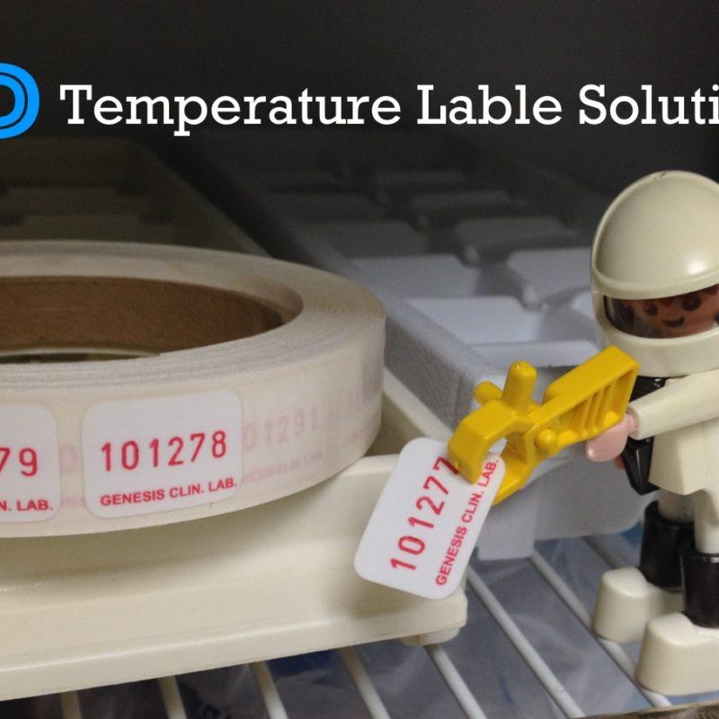 Cold Temperature Labels